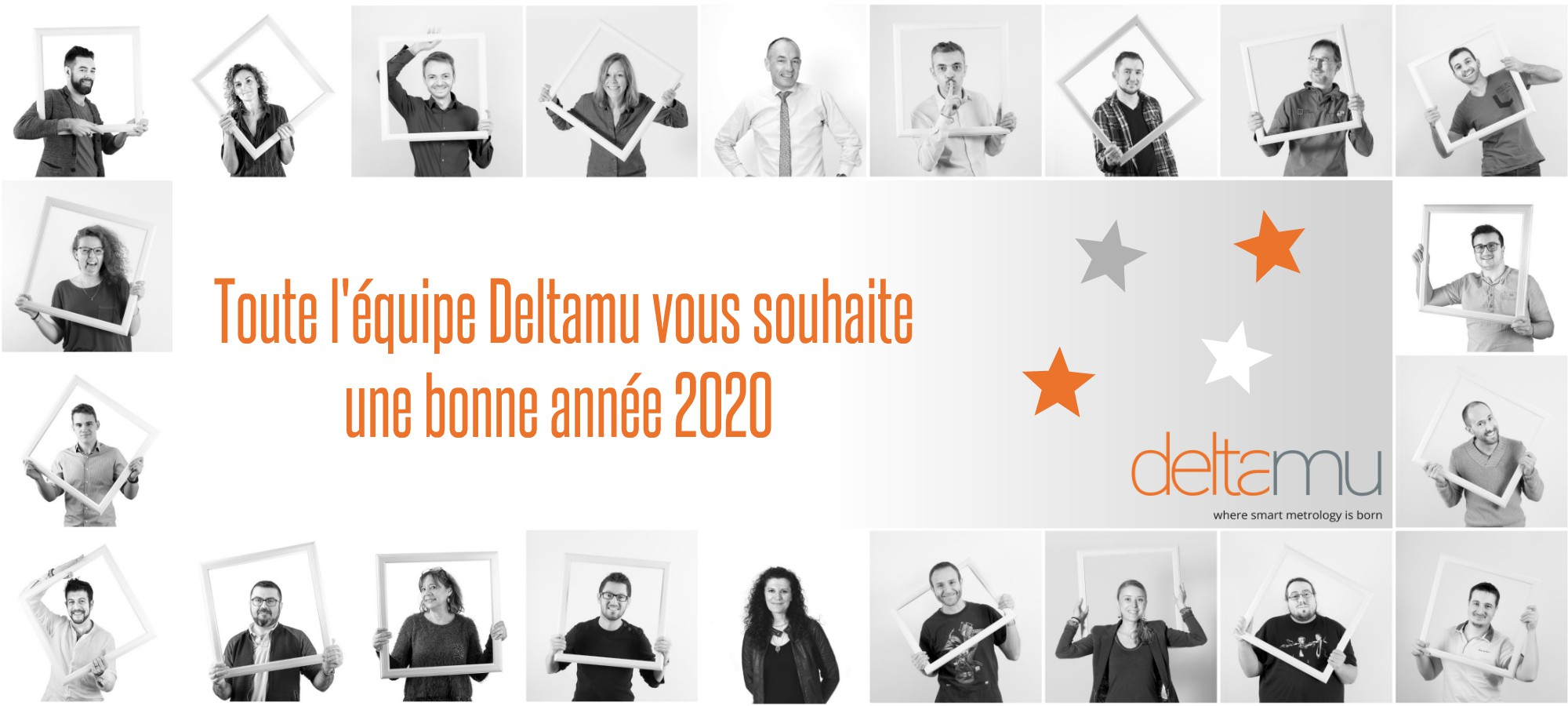 Toute l'équipe Deltamu vous souhaite une bonne année 2020